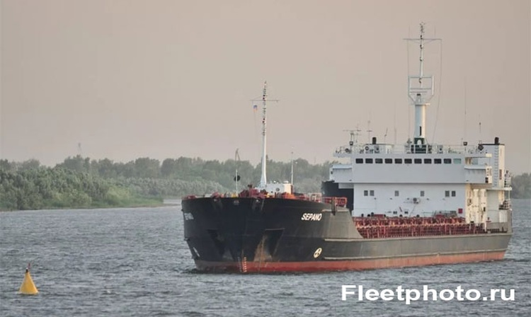 Accident with Iran's cargo ship in Astrakhan | SEA-NEWS